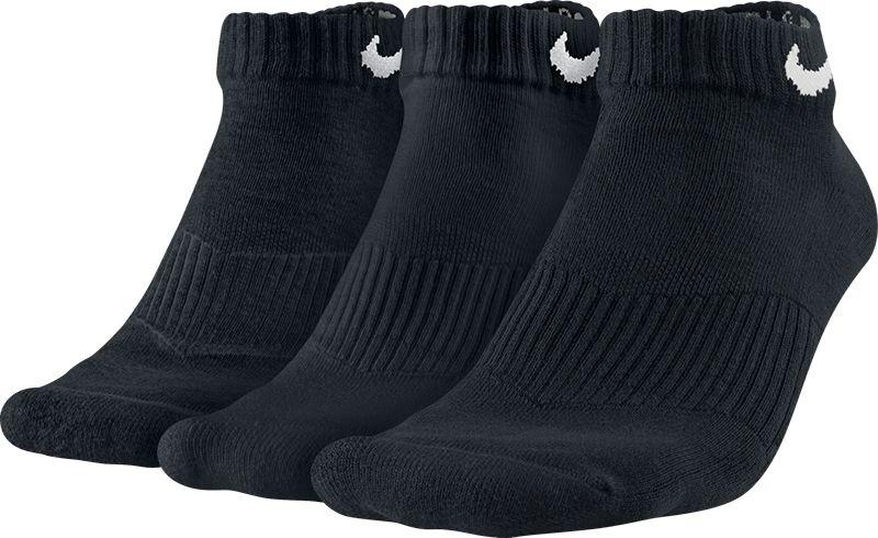 Meia Nike Cano Medio Pacote c  3 Pares Preto Unisex 39 a 43 - OUTLET ... 29377976a3dcd