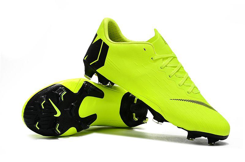c9072b3a2b Chuteira Nike Campo Mercurial Vapor XII Verde Limão - OUTLET SOCCER ...