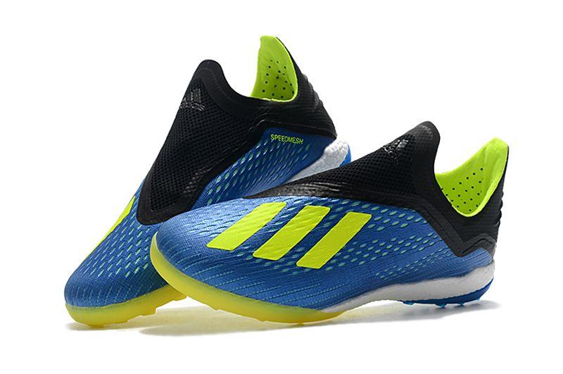 cef9169547a Chuteira Adidas Society Tango 18.3 Azul - ORIGINAL COMO NINGUÉM