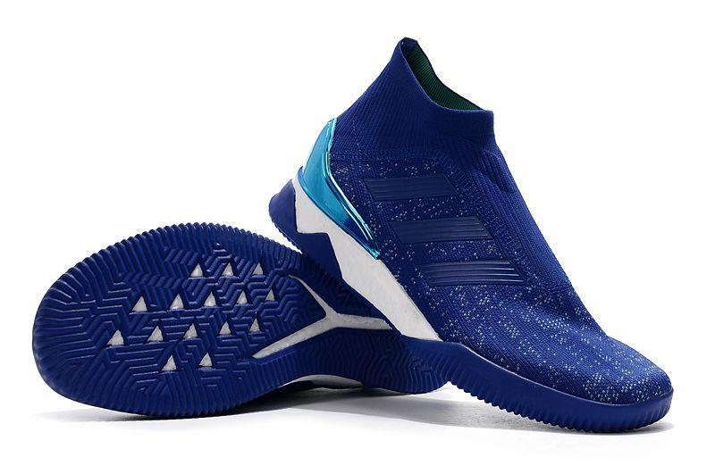 e54ea0b2625 Tenis adidas Predator Tango 18+ TR boost Azul - Loja Show de Bola ...