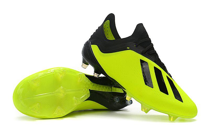 Chuteira Adidas Campo X 18.1 Amarela Preta - OUTLET SOCCER ORIGINAL ... b3455aff4cfa7