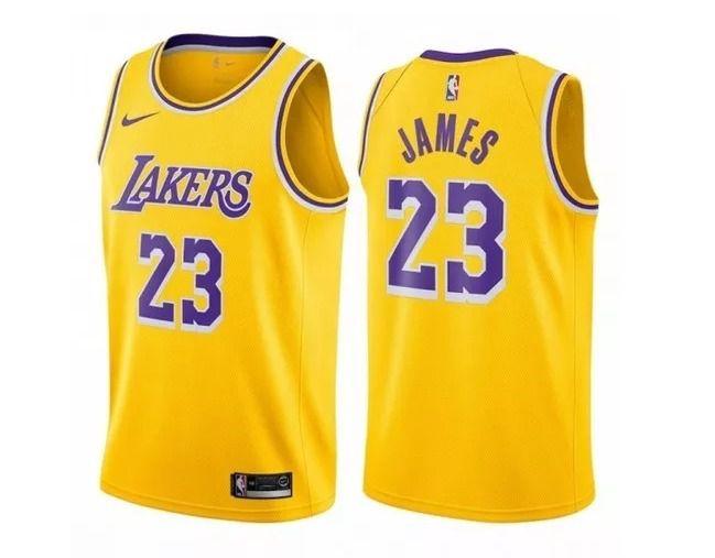 ad398a3f5 Regata Swingman NBA Los Angeles Lakers LeBron James Jersey Nike ...