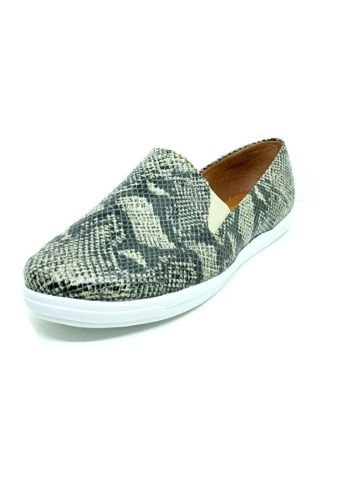 Sapatos Femininos Slip On Slipper Animal Print Cobra Dani K