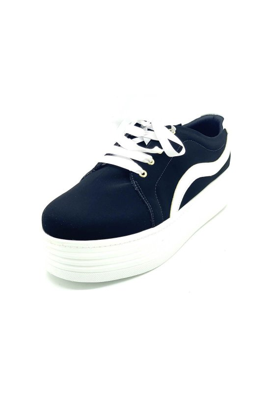 Sapatos Femininos Tenis Casual Sola Alta Dani K