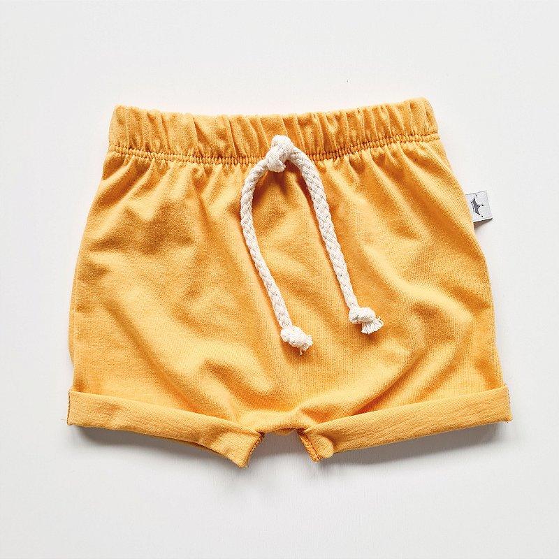 Shorts Básico Mostarda