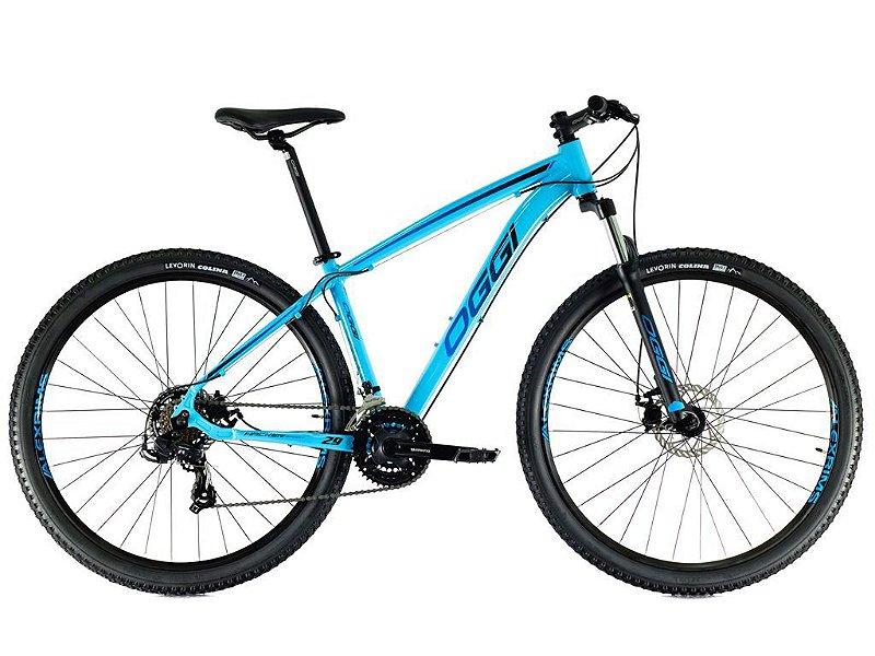 Bicicleta Oggi Hacker MTB Freio a Disco Aro 29 t 19