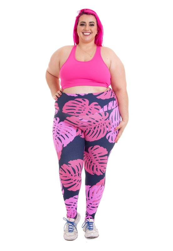 Legging Joana Dark Estampada Emana Plus Amanda