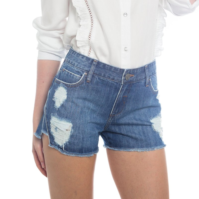 SHORTS JEANS DEGRAU BARRA
