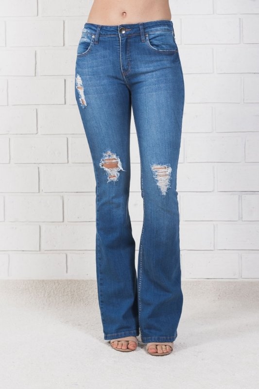 BOOT JEANS RALADOS