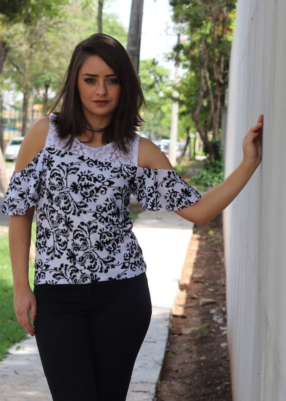 blusa Marina