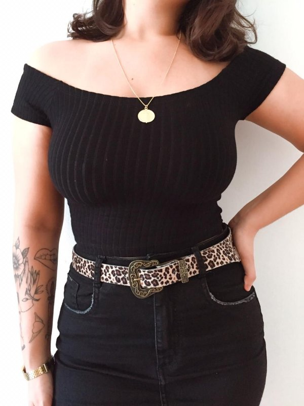 Cropped ombro a ombro basic