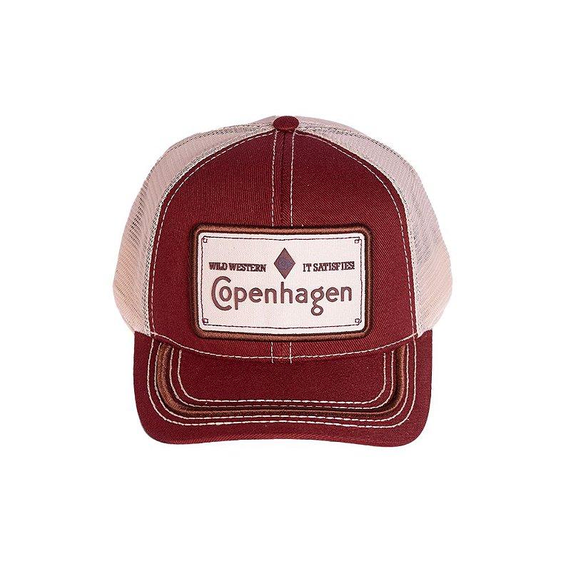 BONÉ COPENHAGEN RED - WILD WESTERN IT SATISFIES