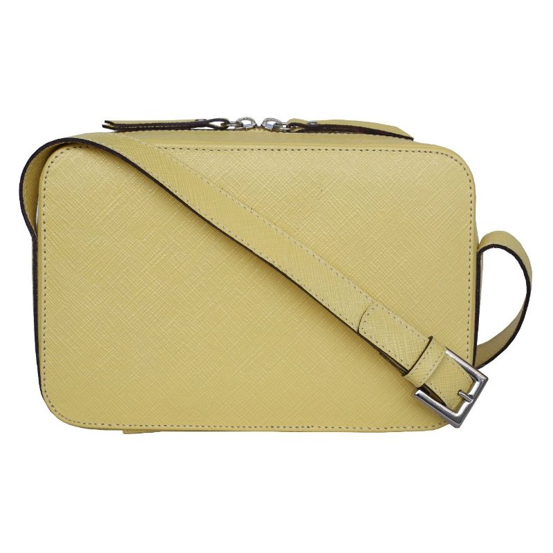 Kelly Bag Saffiano Amarelo