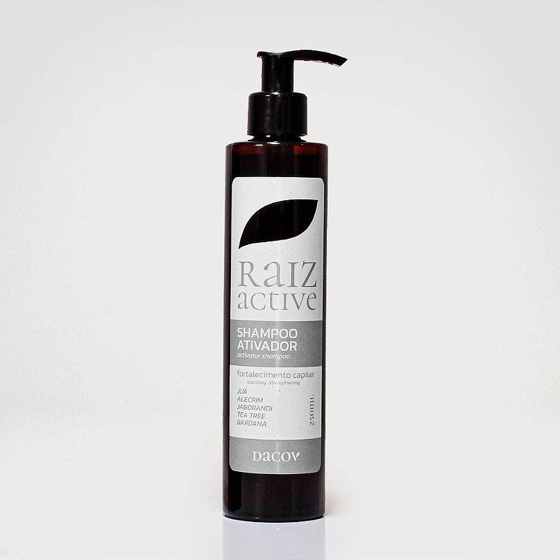 Shampoo Raiz Active Antiqueda Crescimento Capilar 250 ml A Base de Fitoterápicos + Óleos Essenciais