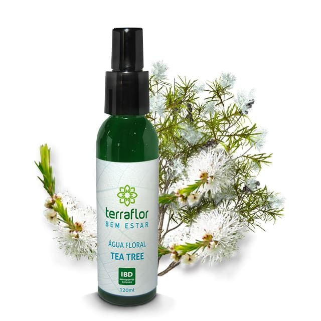 Água Floral de Tea Tree Natural 120ml - Terraflor