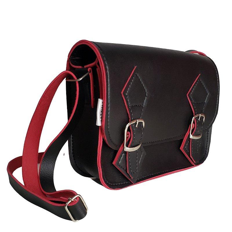 Bolsa Carteiro - PEQUENA - Produto Vegano - 22x14cm