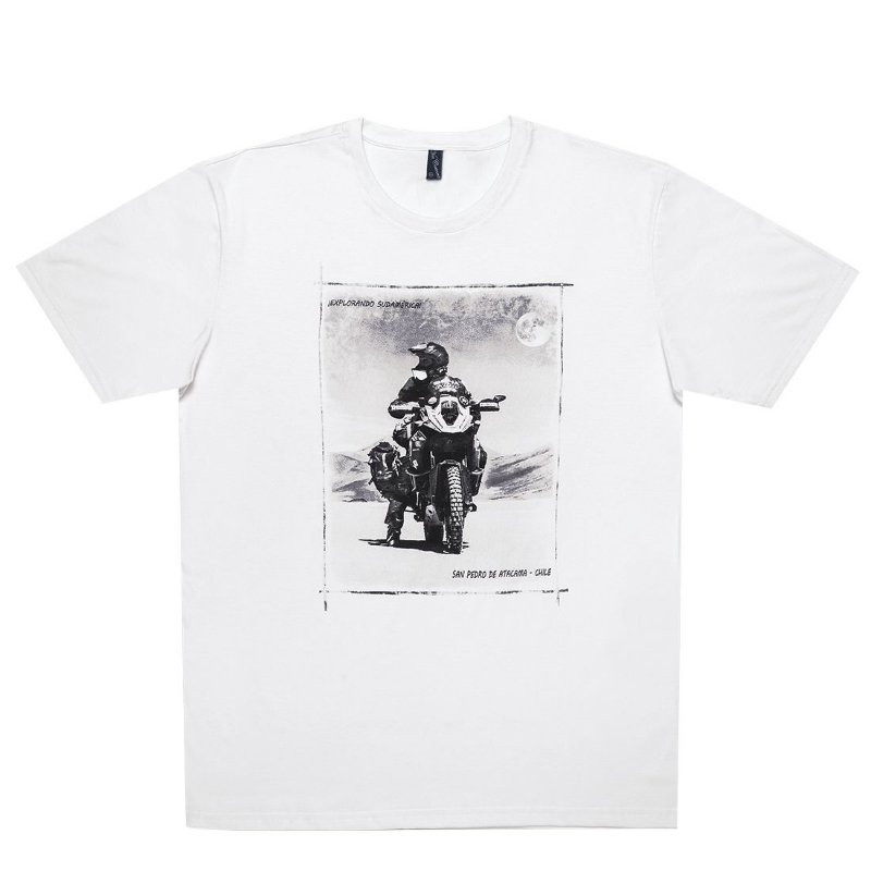 Camiseta Masculina Deserto do Atacama Let´s Ride On