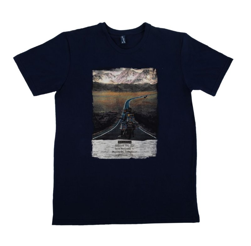 Camiseta Masculina RUTA 40 Let´s Ride On