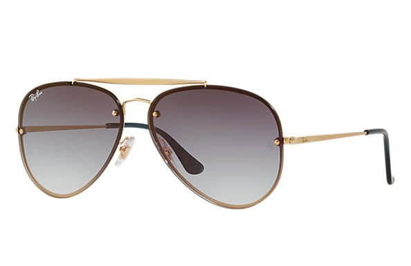 Óculos de Sol Ray-ban Aviador - Aviator - Havana - Piloto - Large ... 26c8d5c6c5