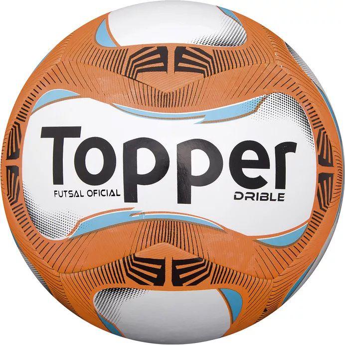 BOLA FUSTAL TOPPER DRIBLE BCO LAR AZL - 10K Sports 0d70f91731cb7