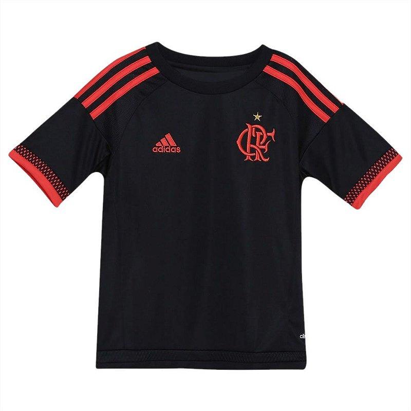 23c724c2c73bc Camisa Adidas Flamengo Infantil - 10K Sports
