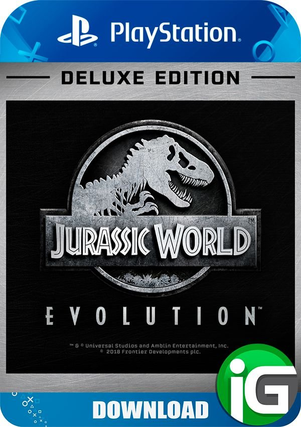 Jurassic World Evolution Deluxe Edition - PS4 - Individual