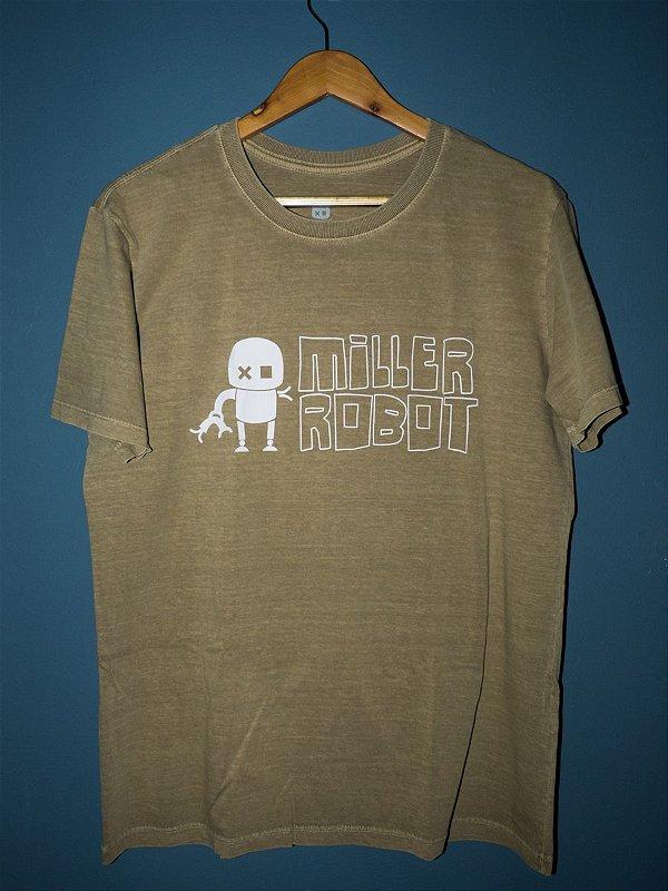 Camiseta  logo Miller Robot