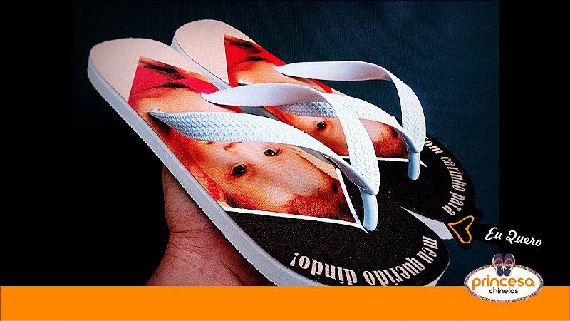 chinelos personalizados para casamento em guarulhos - 1 par