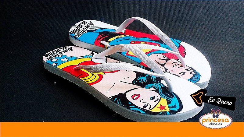sandalias personalizadas formatura - kit com 55 pares linha Premium