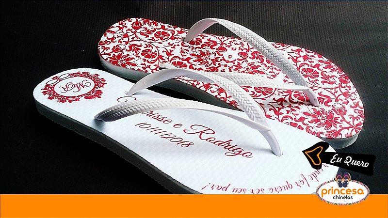 chinelos para casamento campinas - kit com 25 pares linha Premium