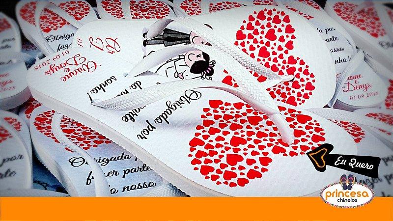 chinelos para casamento barato sp - kit com 45 pares linha Premium