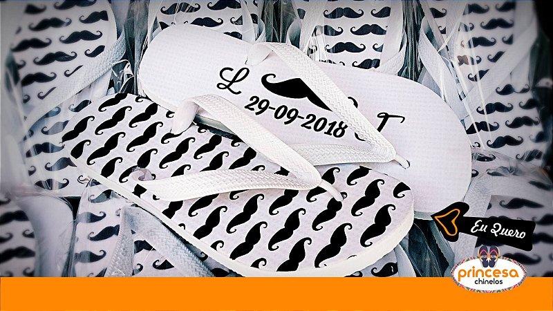 chinelos personalizados porto alegre rs - kit com 250 pares linha Premium