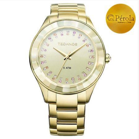 Relógio Technos Feminino 2035LTV 4X - Perolashop 90ff60a4a3