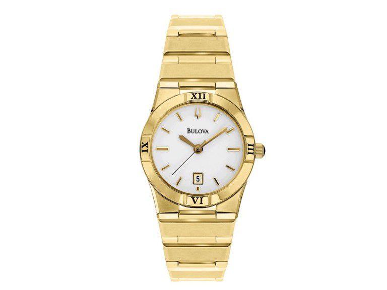 Relógio Bulova Feminino WB29929H Analógico - Perolashop ca23b55169