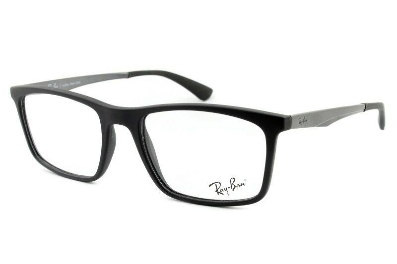 e06a5f36f Armação Óculos de Grau Ray Ban 7134L 5826 - Perolashop