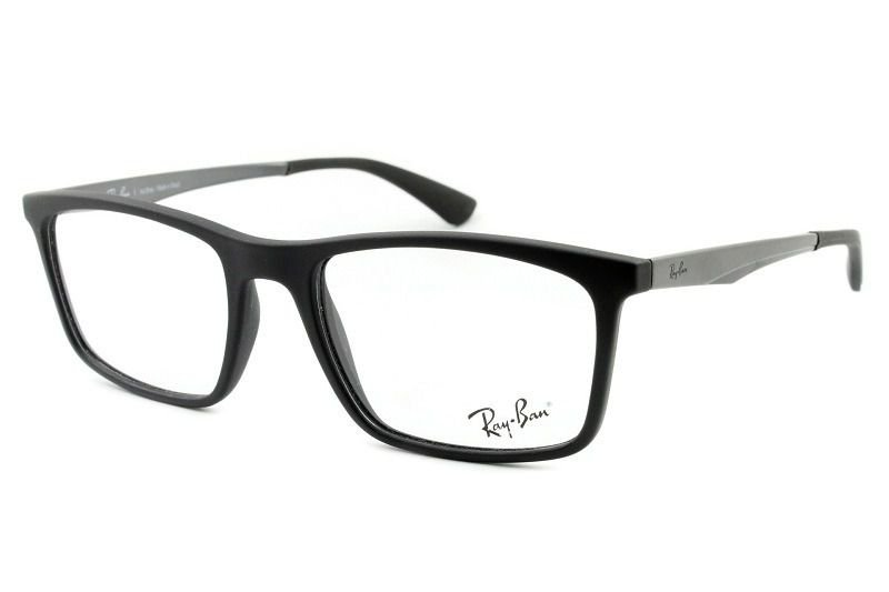 cb809804f Armação Óculos de Grau Ray Ban 7134L 5826 - Perolashop