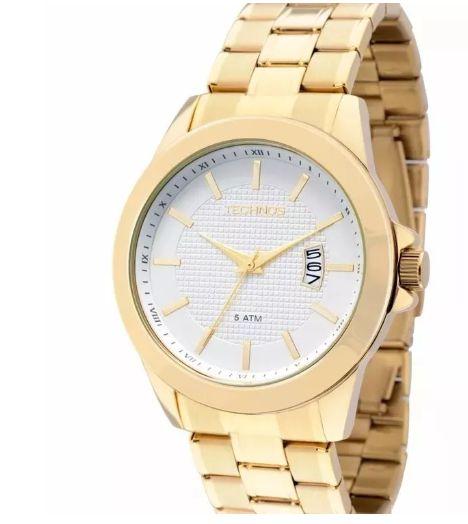 Relógio Technos Feminino Classic Steel 2115knn 4k - Perolashop 8eb4a254ba
