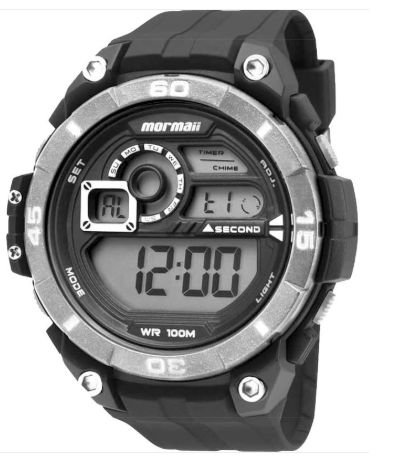 373078a408f Relógio Mormaii Masculino MO2019 8K Digital - Perolashop