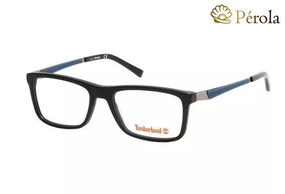 8dc3003ac Armação Óculos De Grau Timberland TB1565 002 - Perolashop