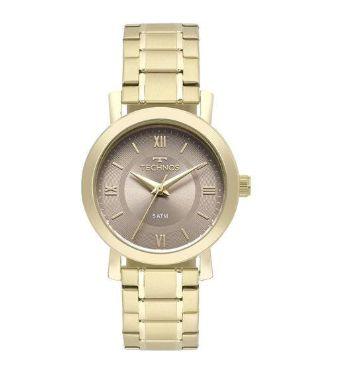 Relógio Technos Feminino Dourado - 2035mms 4c - Perolashop 595bdf9f50