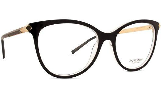 9d9cc456e26e5 Óculos de grau Ana Hickmann AH6321-H01 - Perolashop