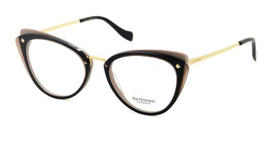2dc461a48f322 Armação Óculos de grau Ana Hickmann AH6326 H01 - Perolashop