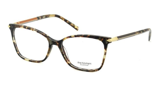 caa7ab0997571 Armação Óculos de grau Ana Hickmann AH6344 G21 - Perolashop