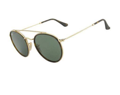 Óculos de Sol Ray Ban Round Double Rb 3647- N 001 51 - Perolashop b7a384ebd2