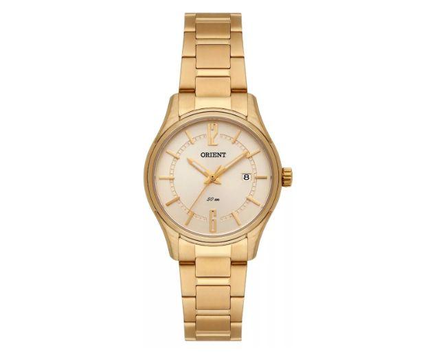 2ccafa65f3c Relógio Orient Feminino Fgss1159 C2kx Dourado Analogico - Perolashop