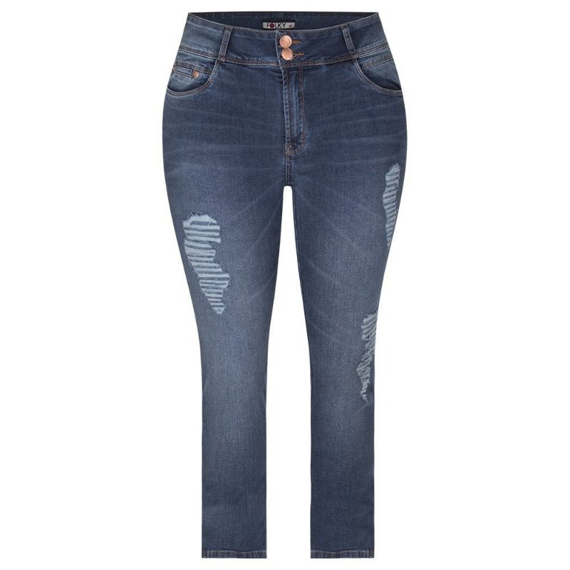 Calça Jeans Plus Size Feminina Puidos