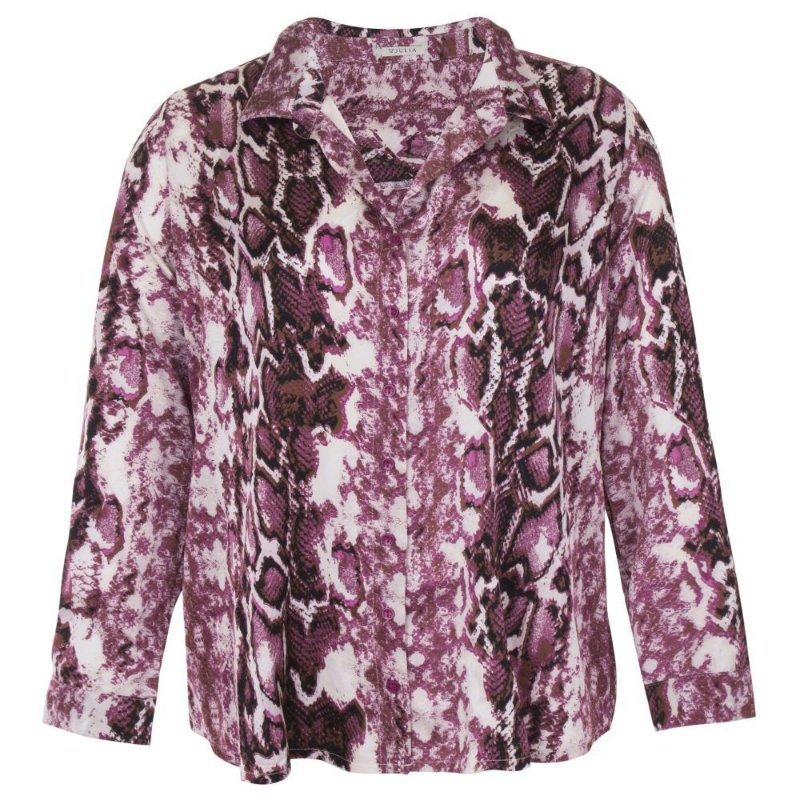 Camisa Plus Size Feminina Animal Print