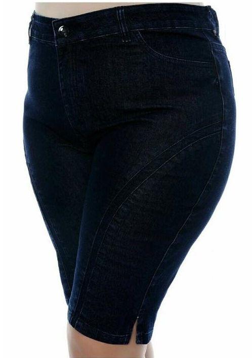 Bermuda Jeans Plus Size