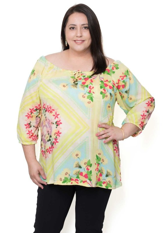 Blusa Cigana Bata Plus Size