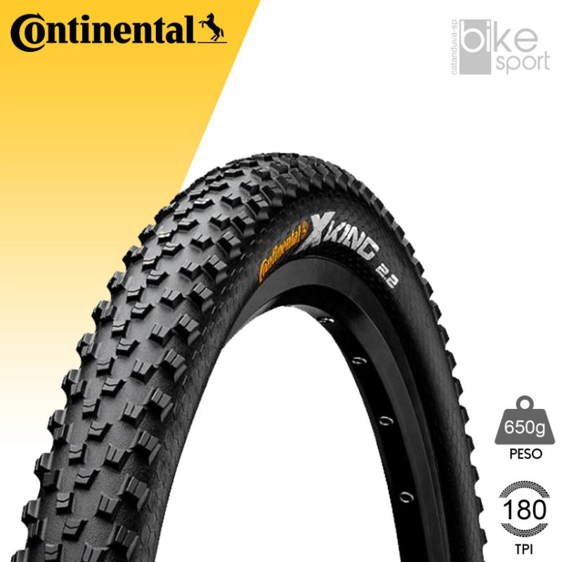 PNEU CONTINENTAL X-KING 29X2.2 PERFORMACE - PRETO/DOBRAVEL